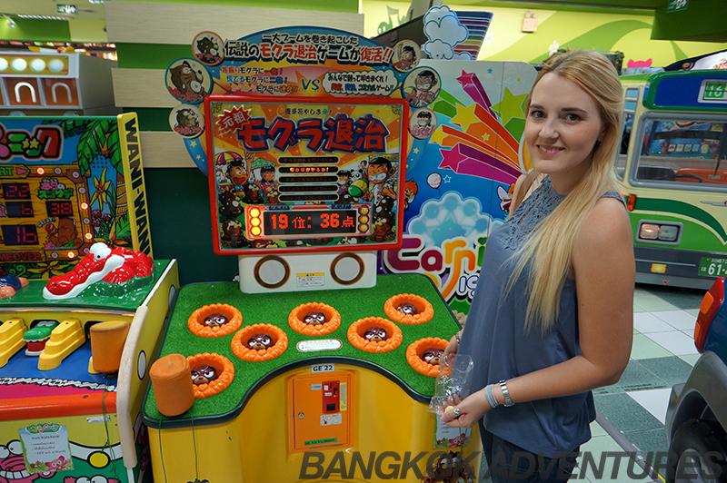 Molly Fantasy arcade at Gateway Mall Ekkamai, Bangkok