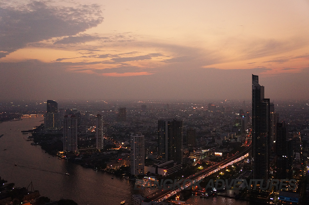 View from Lebua Hangover Sky Bar