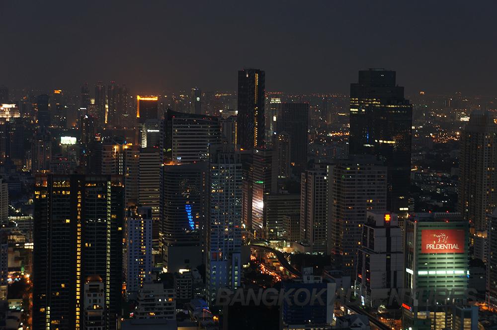 Stunning city views from Lebua, Bangkok