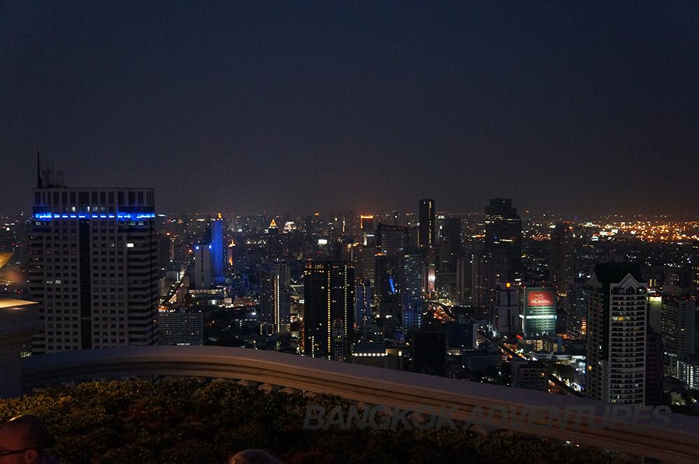 View of Bangkok From the Lebua skybar