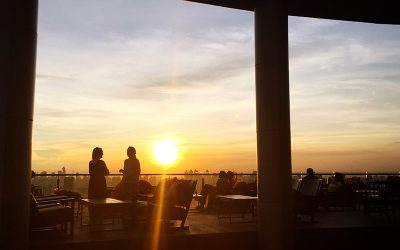 Cielo Sky Bar & Restaurant: Unrestricted Views From Bangkok's Laid-Back Rooftop Bar