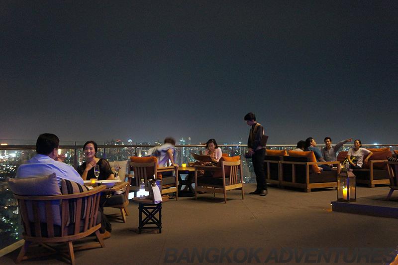Zeppelin Sky bar Bangkok