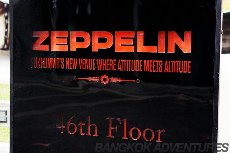 Zeppelin sky bar sign