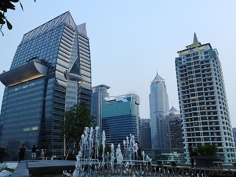 Central Embassy Mall Courtyard Bangkok
