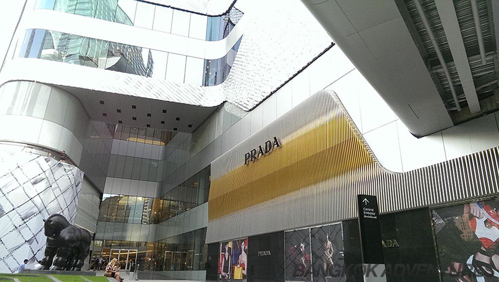 Central Embassy Mall Bangkok Prada Store