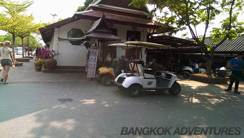 Ancient Siam electric golf buggies