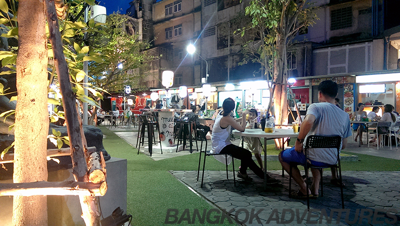W Market in Phra Khanong, Bangkok