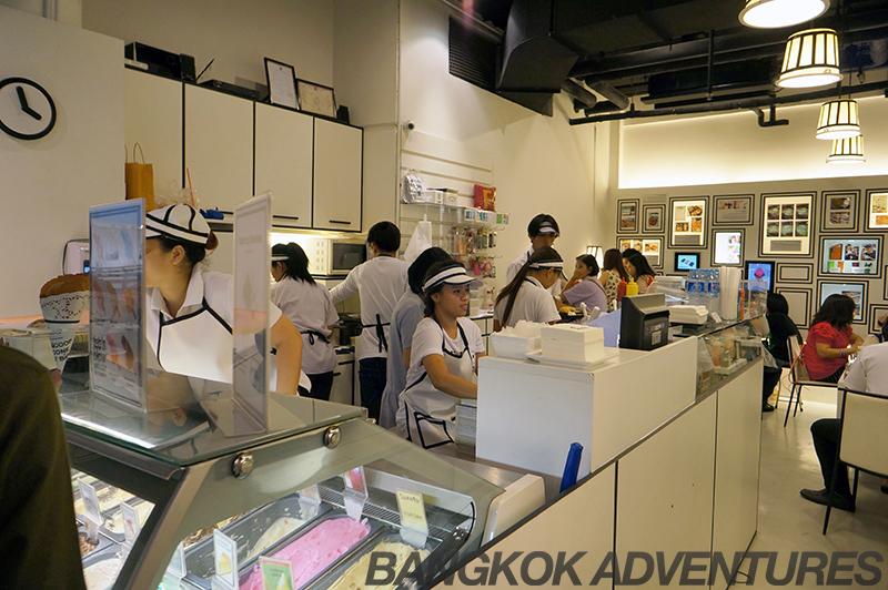 Icedea ice cream shop in Bangkok