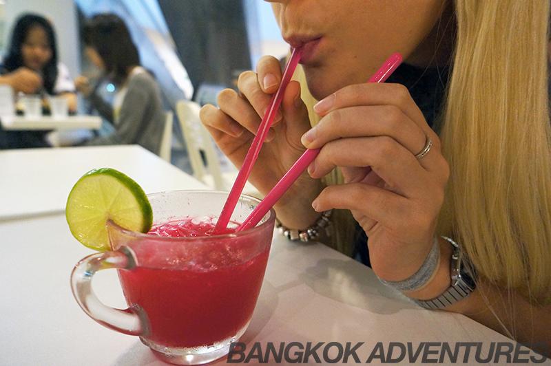 Tasty treat: Grandma's Lemonade at Icedea cafe, Bangkok