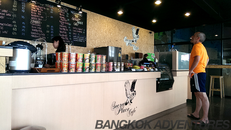 The Secret Place Cafe at Rock Domain Climbing Gym, Bangkok