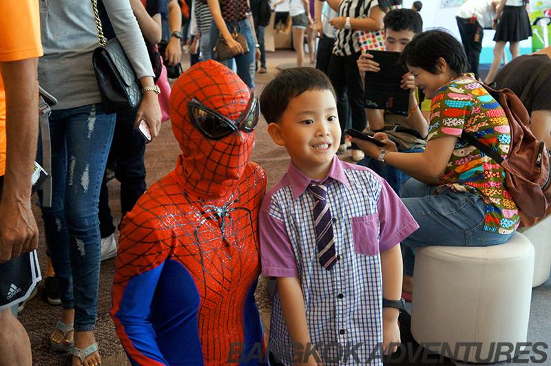 Spiderman at Bangkok Comic Con 2014