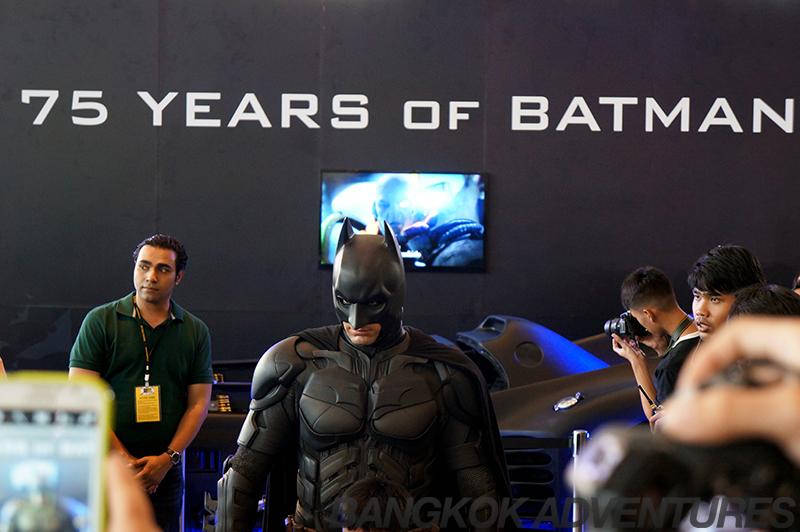 Batman at Bangkok Comic Con 2014