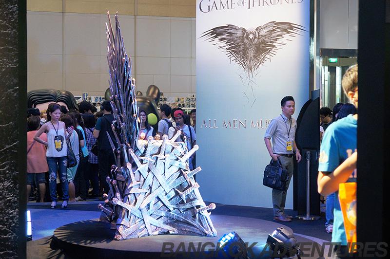 The Iron Throne at Bangkok Comic Con 2014