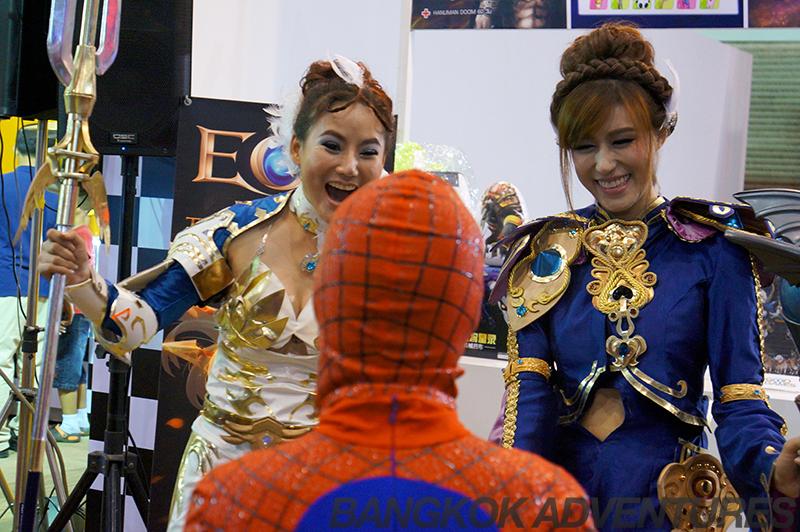 Bangkok Comic Con 2014