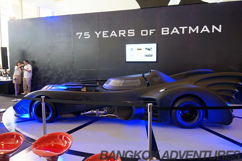 The Batmobile at Bangkok Comic Con 2014