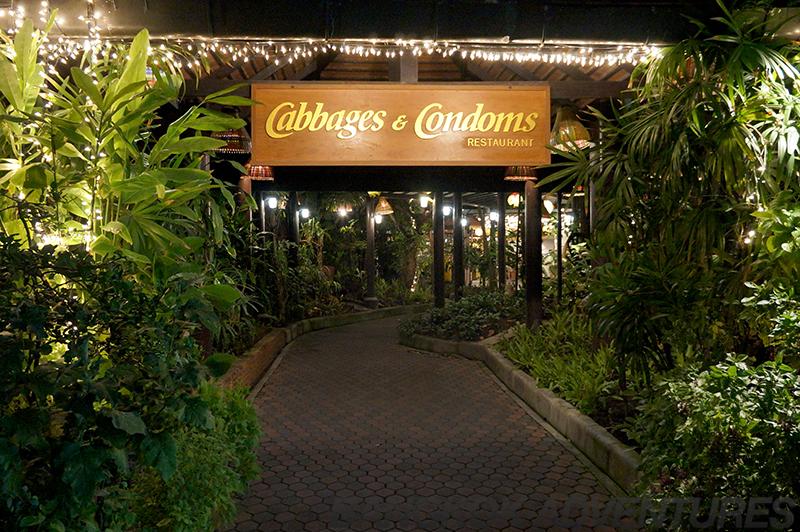 Cabbages and Condoms Thai Restaurant in Bangkok