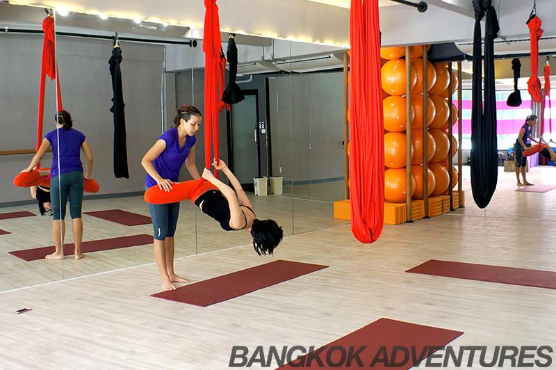Fly Yoga at I Love Pilates