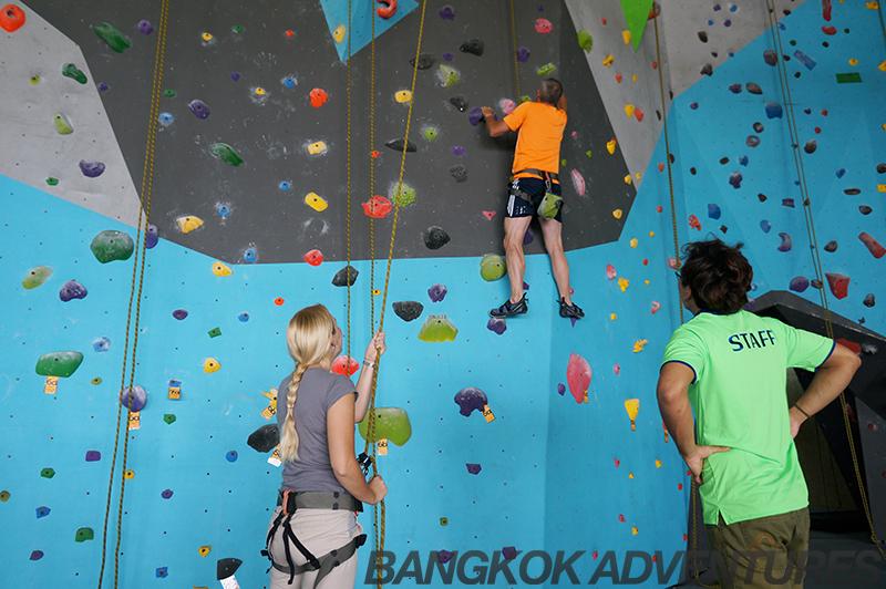 Rock Domain Climbing Gym, Bangkok