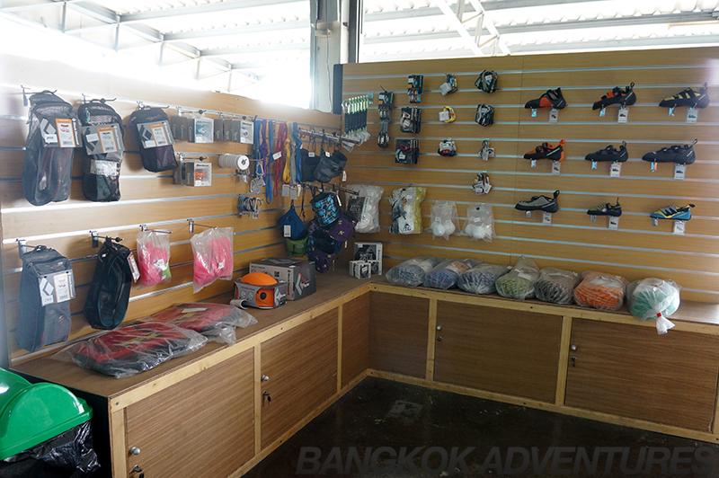 Buy your climbing gear at Rock Domain Climbing Gym in Bangkok