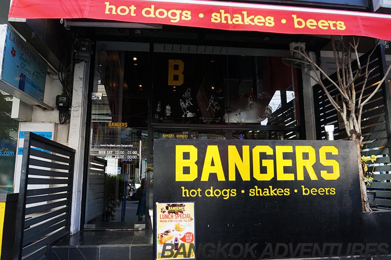 Bangers Bangkok hot dogs, sausage dogs and milkshakes