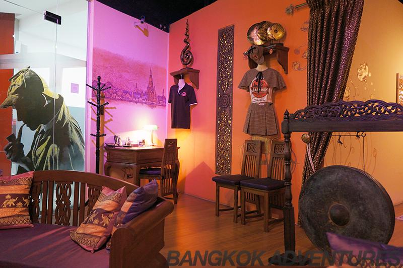 Escape Hunt Bangkok murder mystery experience